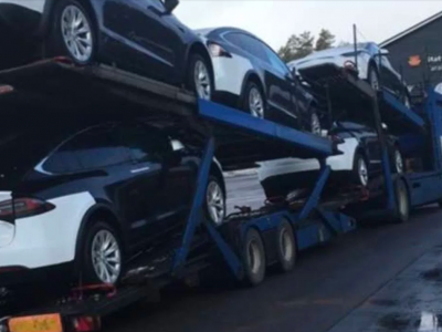 Tesla has trouble transporting cars to Norway