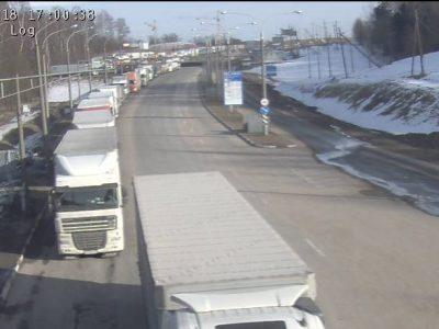 Zatory na granicy białorusko-litewskiej. W kolejce stoi ponad 1000 ciężarówek