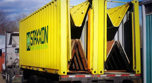 Faltbare Container als Heilmittel für Leerfahrten?