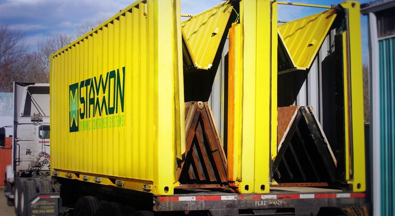 Bardzo dobryFantastyczny Składane kontenery lekarstwem na puste przebiegi? - Trans.INFO FP57
