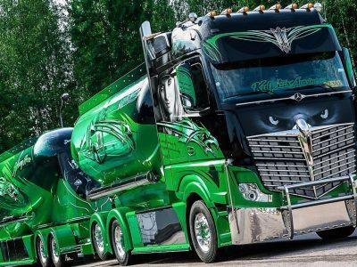 Германия все чаще и чаще выставляет штрафы за тюнинг грузовиков
