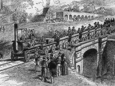Transporto istorija, 3 dalis. Apie tai, kaip geležinkeliai nugalėjo diližansus ir vidaus vandenų transportą