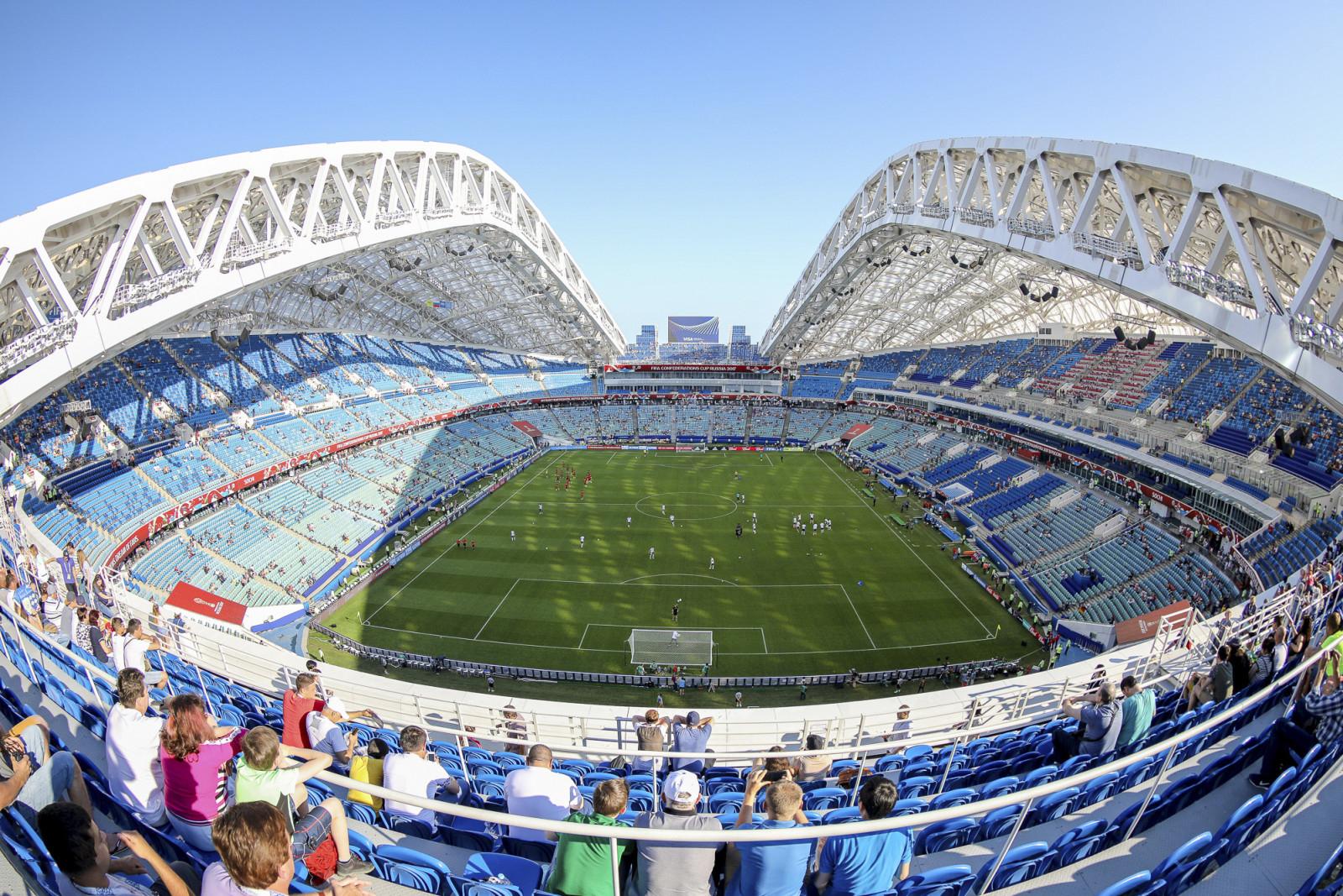 Na Mistrzostwa Świata w piłce nożnej ma powstać stadion z kontenerów