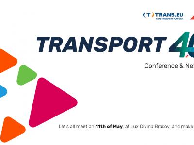 Conferința Transport 4.0, 11 mai, Brașov