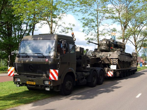 Dutch address the truck drivers shortage. Army will support a well-known company