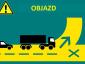 Utrudnienia na autostradzie M20 w kierunku do Dover i Eurotunelu