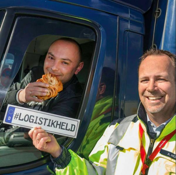 Hamburg znów dziękuje bohaterom logistyki. Dziś kierowcy zostaną obdarowani słodkościami