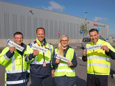 Cinnamon rolls for drivers. Hamburg thanks the silent heroes of logistics
