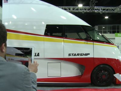 Shell представила футуристический модель грузовика