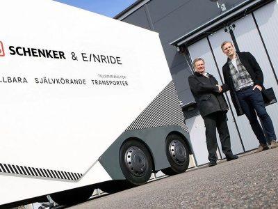 DB Schenker ar putea fi primul operator european care folosește camioane electrice autonome