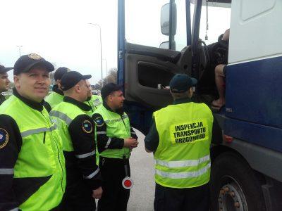 Инспекция польского автодорожного транспорта провела проверки в Украине, представляя свои методы работы Укртрансбезпеке