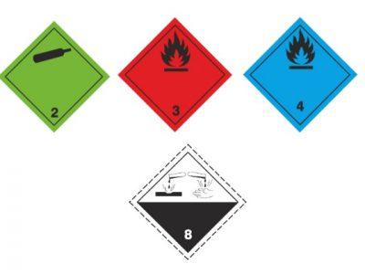 Veszélyes áru szállítási jelölések méretproblémái – ADR alapok 4. rész