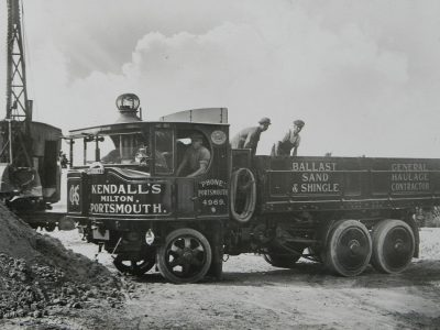 History of transport part 6. Over half a ton of coal per hundred kilometers – that's how much steam tractors burned