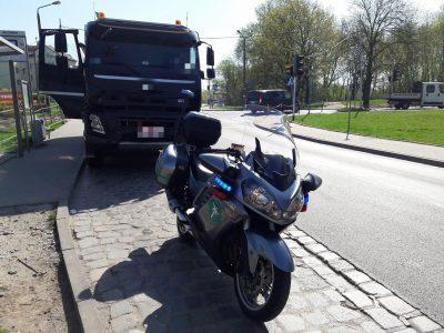 """""""Krokodyle"""" na motocyklach. ITD wzmaga kontrole ciężarówek"""