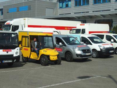 Melex, Zeppelin i inne – Poczta Polska zaczyna testy elektrycznych dostawczaków