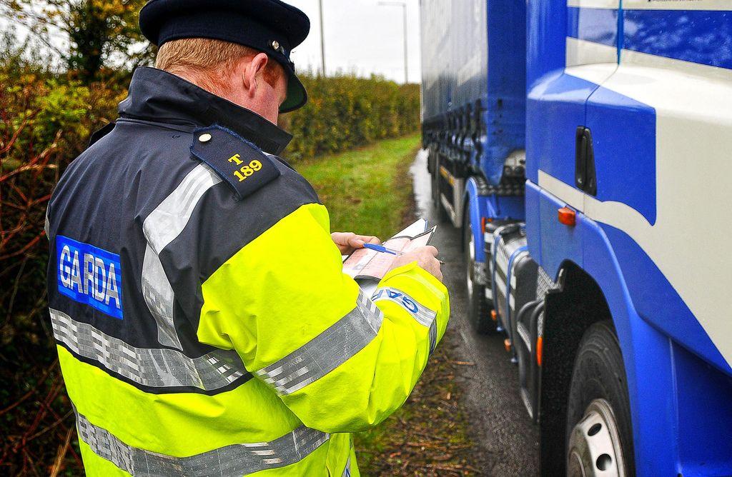 Masinis sunkvežimių tikrinimas Europoje. Reidas užtruks iki spalio 18 d.