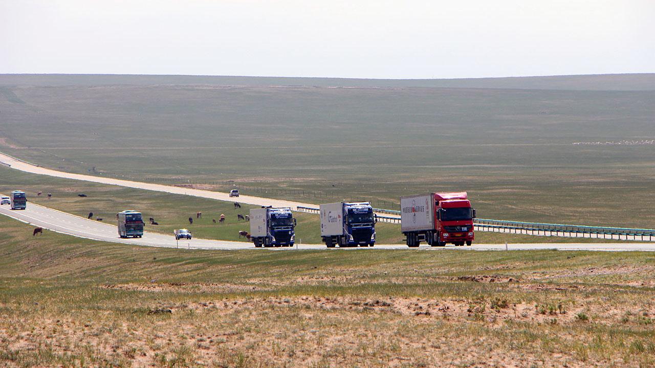 Genialne posunięcie Rosji. Nowe połączenie z Chinami – pierwsze ciężarówki już na trasie