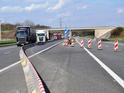 Rozpoczął się remont A4 w rejonie Opola. Możliwe korki