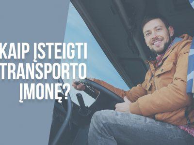 Kaip įsteigti transporto įmonę? Pelningo verslo idėja [nemokamas PDF vadovas]