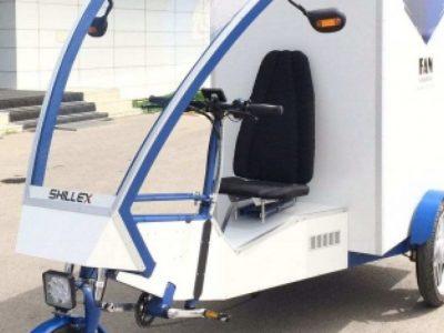 Primul cargobike electric din România este introdus în flota unui curier