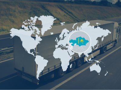 Kazachstanas padidino krovinių pervežimą automobiliais į Europą