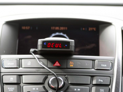 Įspėjimas vairuotojams: jei turite bet kurį iš šių prietaisų, sulauksite didelis baudos
