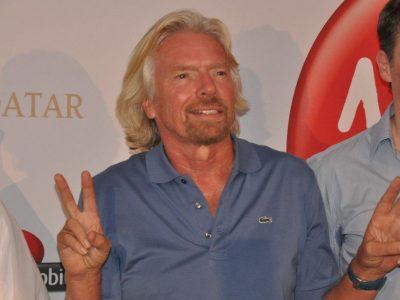 Der Milliardär Richard Branson gründet eine neue Firma und investiert in den Expressgüterverkehr