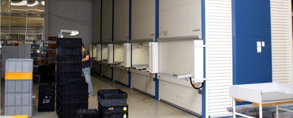 Logistyka 4.0 w praktyce. Jak regały Lean-Lift usprawniły logistykę Bury Technologies