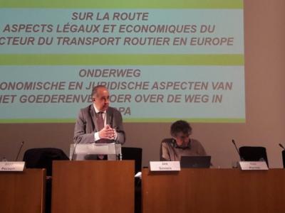 Gewerkschaftern aus Westeuropa gefällt der Entwurf des Mobilitätspakets nicht. Es geht um die Arbeitszeit von Fahrern.