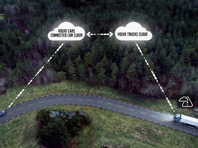 O nouă tehnologie permite schimbul de informații între camioane în timp real