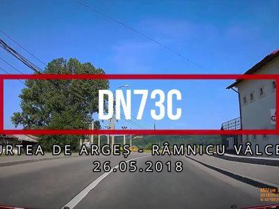 DN73C are nevoie de îmbunătățiri semnificative