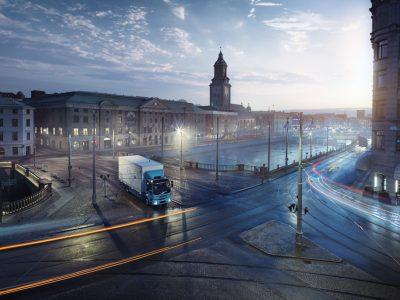 """""""Volvo Trucks"""" pristato dar vieną elektra varomą sunkvežimį"""