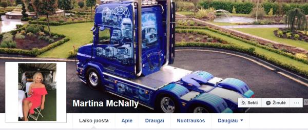 """21 metų vilkiko vairuotoja iš Airijos ir jos """"Scania"""" yra tokios gražios, kad gali sustabdyti gatvių"""