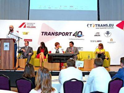 """Conferința Transport 4.0    Augustin Hagiu: """"Lipsa forței de muncă și migrația șoferilor sunt printre problemele majore din transporturi."""""""