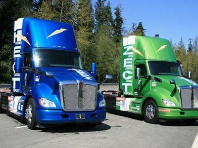 Kenworth walczy z emisją spalin. Nowa hybrydowa ciężarówka ma zasięg 280 mil