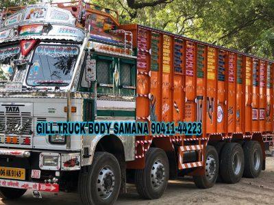 Važiuojantis meno kūrinys tiesiai iš Indijos. Azijos sunkvežimio viduje