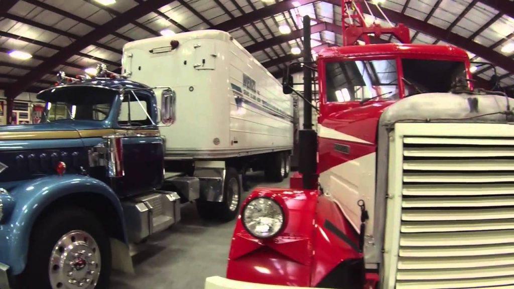 Virtualus apsilankymas Amerikos sunkvežimių muziejuje