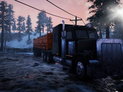 Drive a truck and fight for survival in a virtual world. A new game under the Discovery license