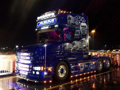 21-year-old trucker and her Scania are conquering the roads. An amazing duo that impresses not only in Ireland
