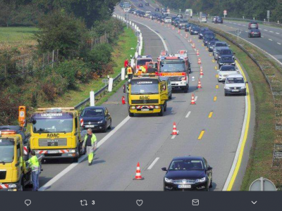 Roadworks on highways in North Rhine-Westphalia will finish earlier than planned