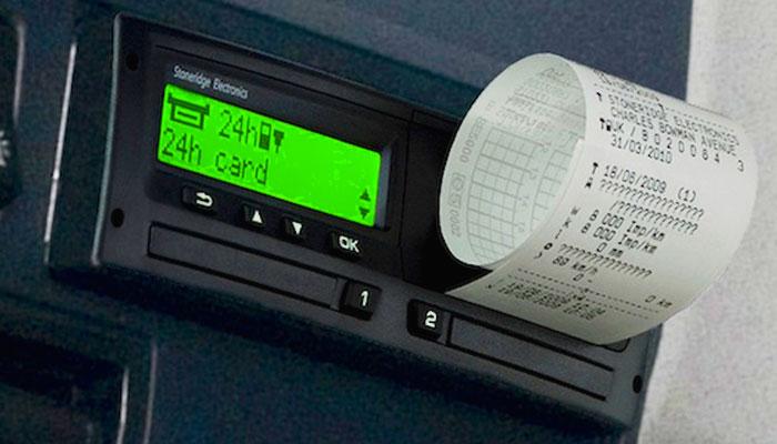 Цифровой тахограф - контроль водителей