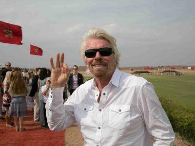 A milliárdos Richard Branson új vállalatot alapít: az expressz áruszállításba fektet be