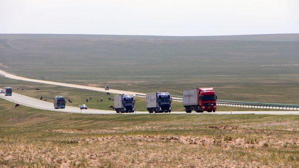 LKW-Verkehr von und nach China infolge der Corona-Krise immer beliebter