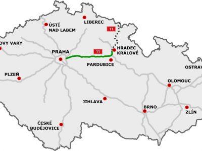 Czesi rozpoczęli budowę autostrady do polskiej granicy