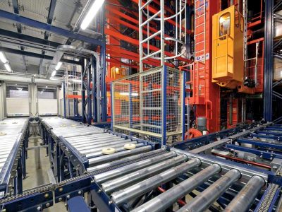 Logistics 4.0 in practice. Automated stacker cranes and fireproof warehouse