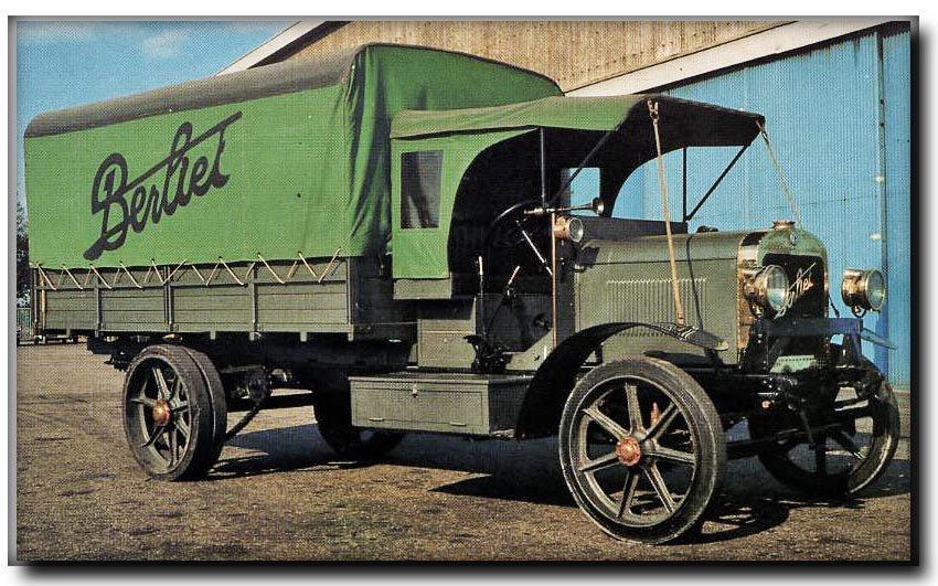 Berliet CBA okazał się długowiecznym modelem, używanym do lat czterdziestych.