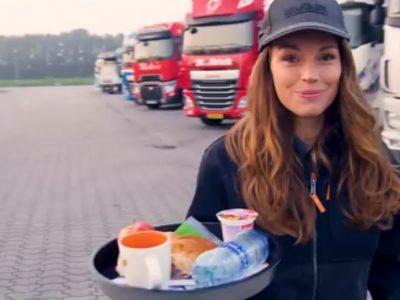Surpriză pentru șoferii de camion de Ziua Tatălui