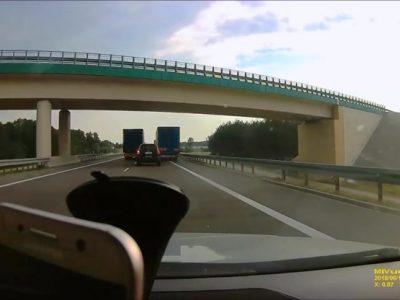 Kaip lietuviai vairuoja užsienyje. Kodėl vairuotojas nebus nubaustas už tokį šokiruojantį nusikaltimą?