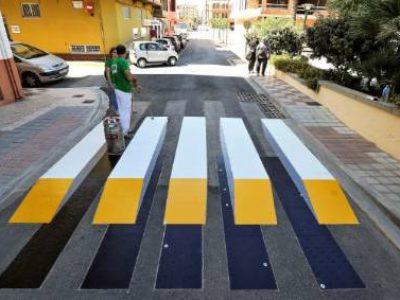 Spania implementează primele treceri de pietoni 3D. Vor fi oare mai sigure?