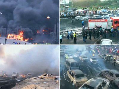 Vairuotojai degė gyvai. Košmaras prasidėjo nuo stabdžių avarijos